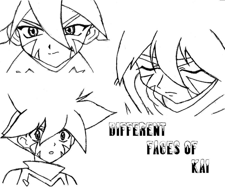 Different faces of KAI by msanimejapan