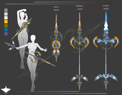 Shooting star spear.