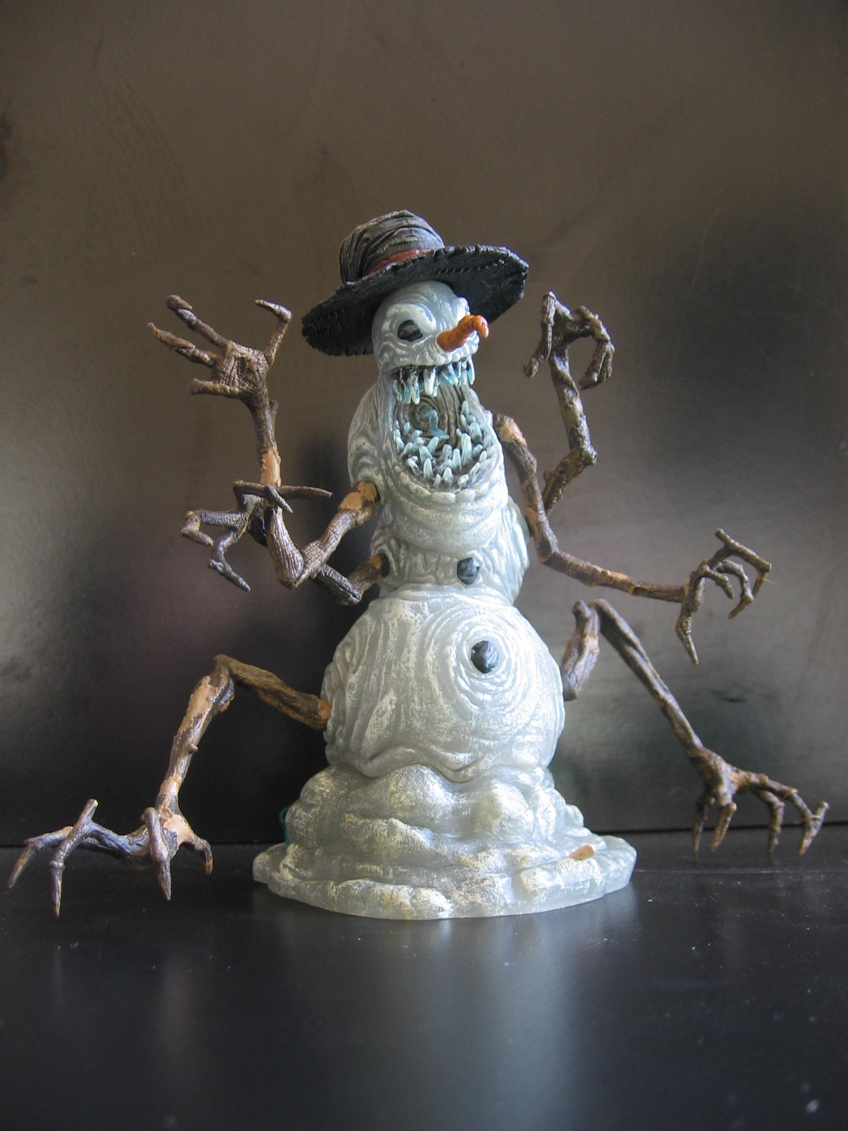 Snowman 01 by restmlinstock