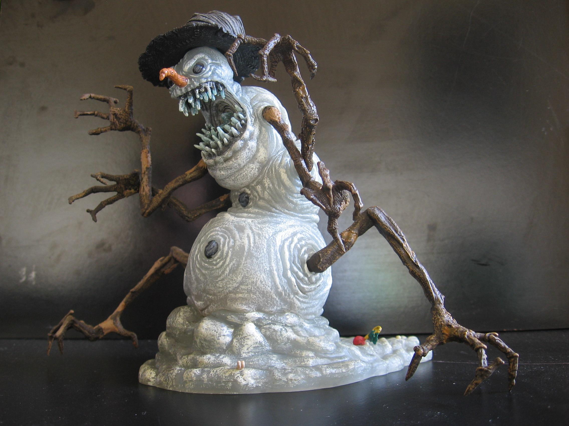 Snowman 02 by restmlinstock