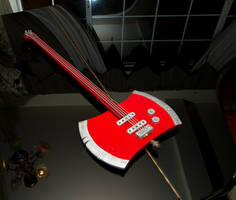Marcaline's Ax Guitar by WhiteChocoBaby