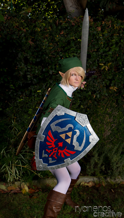 Link Cosplay Photoshoot #4 by WhiteChocoBaby