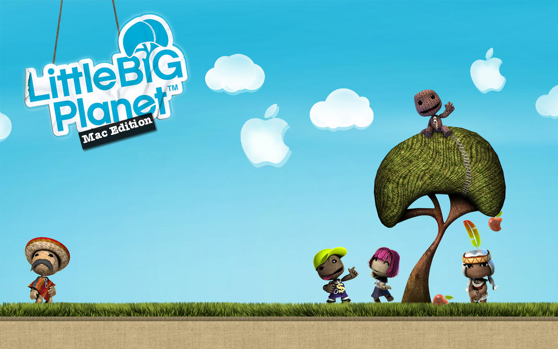 apple little big planet wallpaper by lindsaycookie on