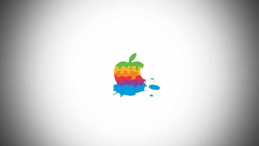 Simple Melted Apple Wallpaper by LindsayCookie
