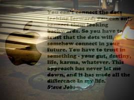 Steve Jobs Quote by LindsayCookie