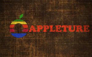 Apple Aperture Retro Wallpaper by LindsayCookie