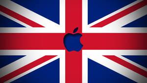 Apple Union Jack Wallpaper by LindsayCookie