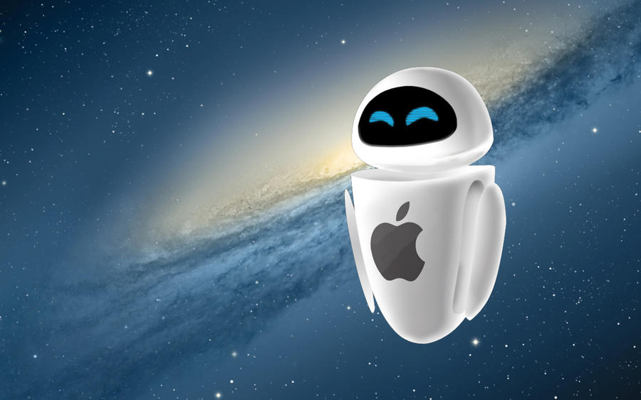 WALL E EVE Apple Wallpaper By LindsayCookie On DeviantArt