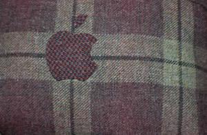 Tartan Apple Logo by LindsayCookie
