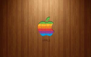Apple Rainbow Logo Jigsaw by LindsayCookie