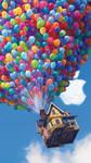 iPhone 5 Pixar UP wallpaper HD by LindsayCookie