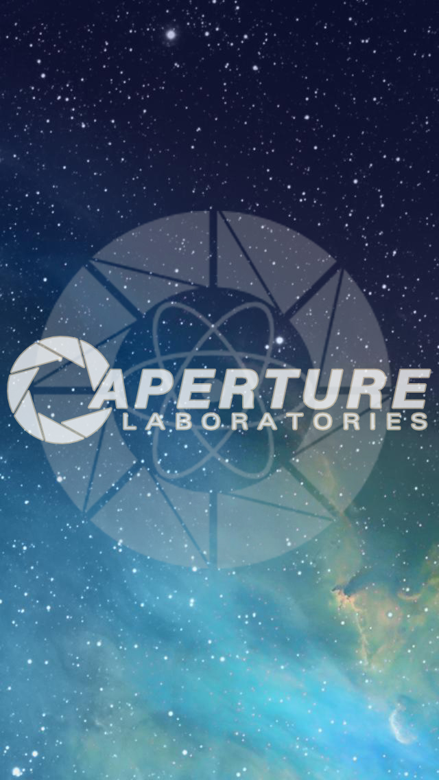 Aperture Science Laboratories IPhone Wallpaper By