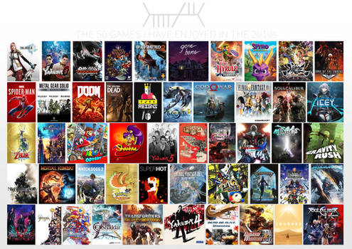 My favourite games of the 2010s