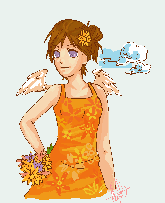 Spring's Flowers by love4pocky