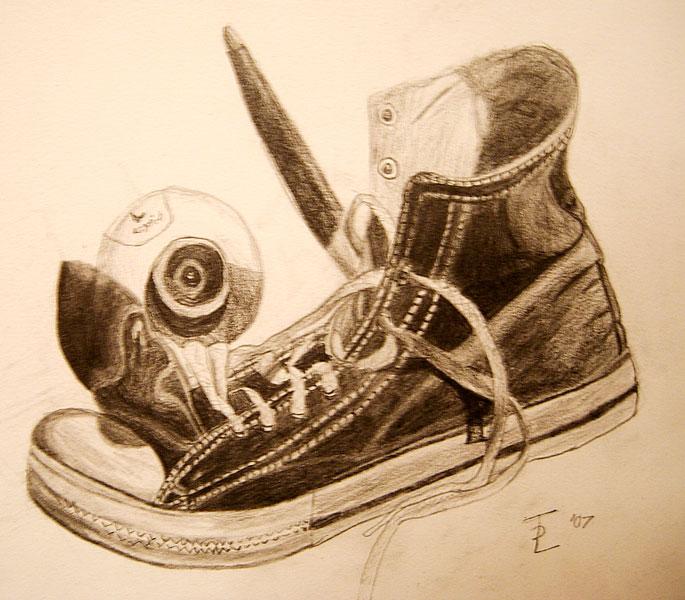 Who Draws a Shoe? by euphoriafish