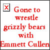 Grizzly wrestling by seremela05
