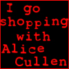 I shop with Alice Cullen by seremela05