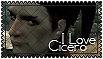 I Love Cicero Stamp by Syrubis-Stock