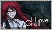 I Love Grell Stamp by Syrubis-Stock