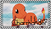 I Love Charmander Stamp by Syrubis-Stock