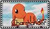 I Love Charmander Stamp by Syrubis-Stock