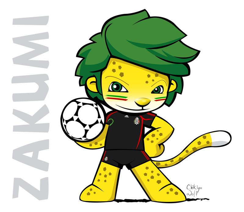 Zakumi  Official Mascot unveiled  fifacom
