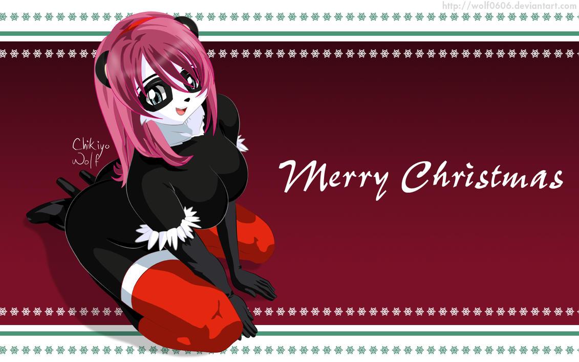 Merry Christmas 2011 by Chikiyo-Wolf