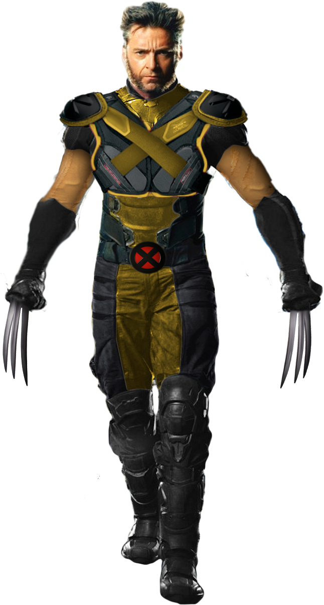 Hugh Jackman Classic Wolverine Suit(Unmasked) by ...