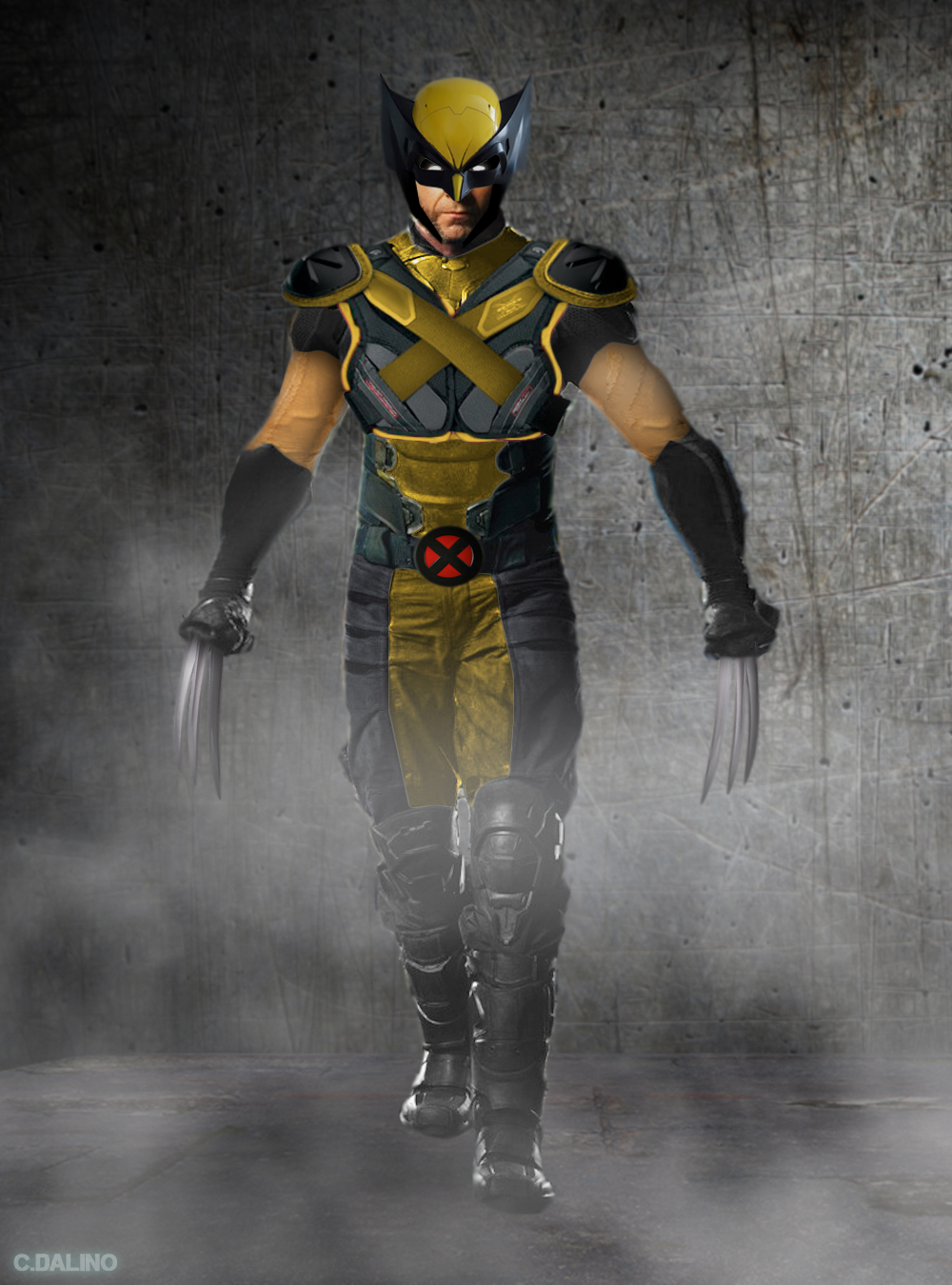 Hugh Jackman Classic Wolverine Suit(Masked) v2 by ...