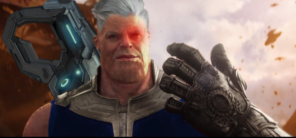 Josh Brolin's Thanos and Cable Mashup by ConstantineHB