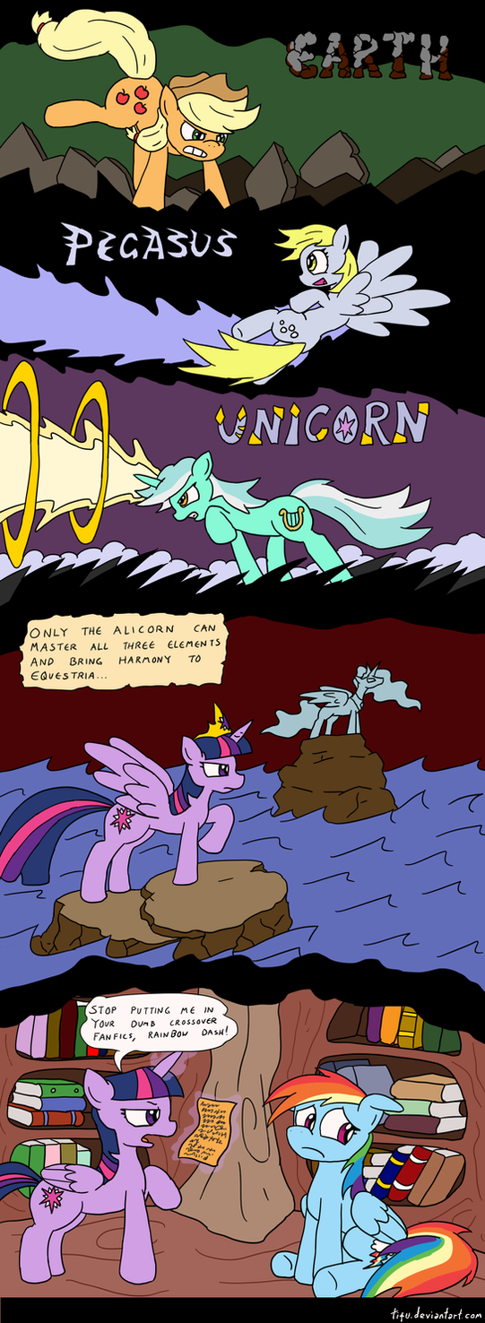 The Legend of Twilight by tifu
