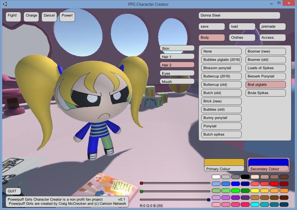Powerpuff Girls Character Creator By Tifu On Deviantart