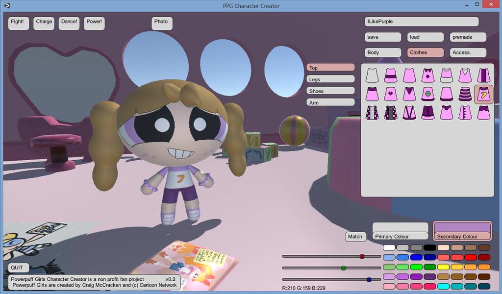 Powerpuff Character Creator Download Game Avatar
