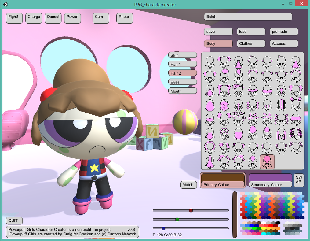 Powerpuff Girls Creator v0.8 PC and Mac! by tifu