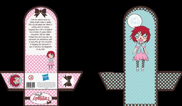 Raggedy Ann Package Design