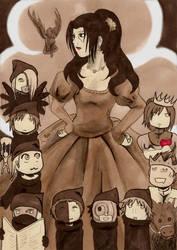 Snow white and the seven Akatsu- ...ehm, dwarfs! by Nadetha