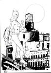 Batgirl ink