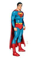 Action comics's Superman by JoshTempleton