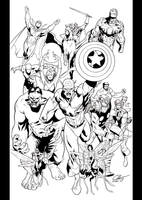 Avengers assemble by JoshTempleton