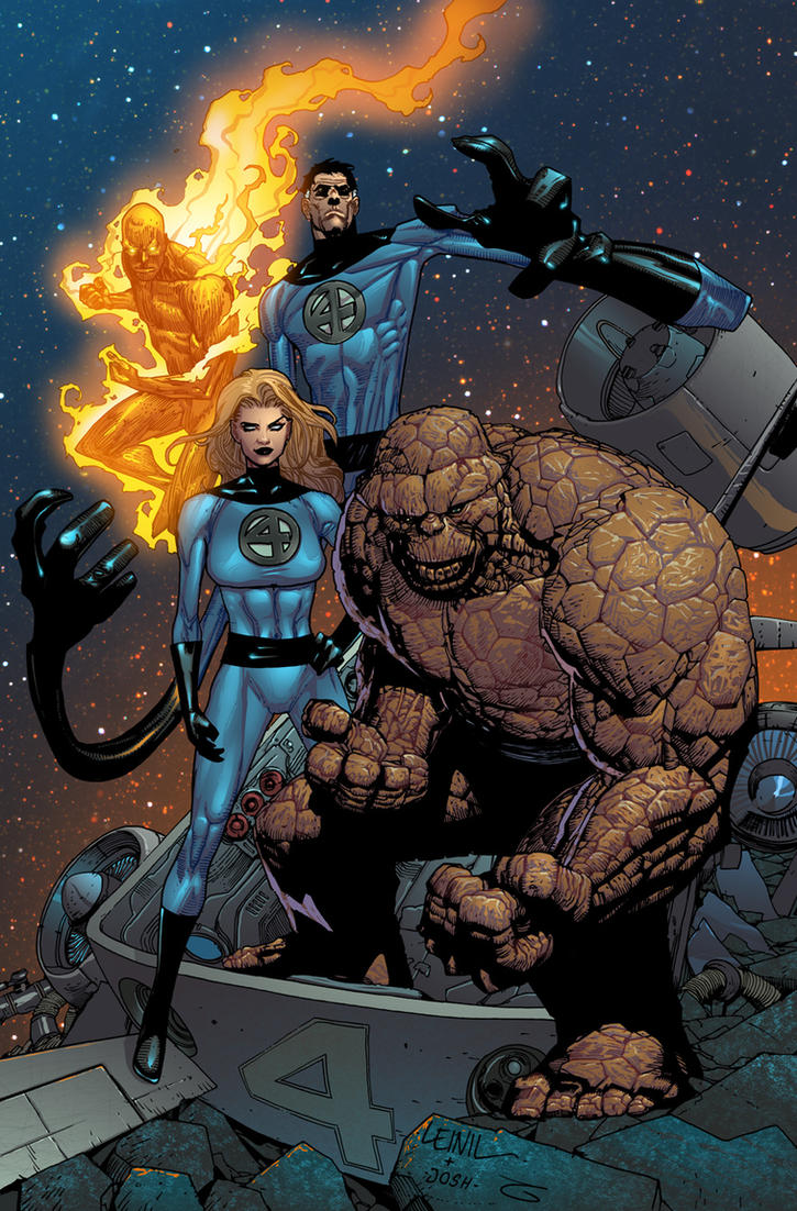 Fantastic Four colors by JoshTempleton
