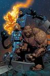 Fantastic Four colors by JoshTempleton