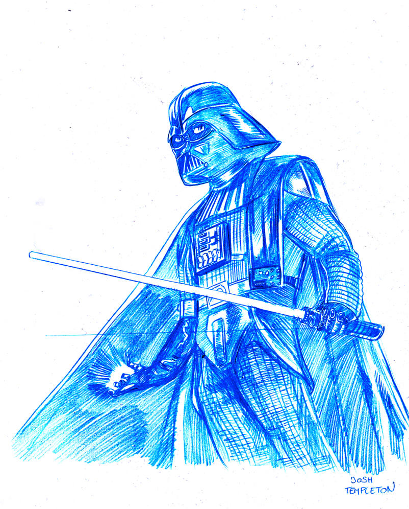 Star War's Darth Vader... by JoshTempleton