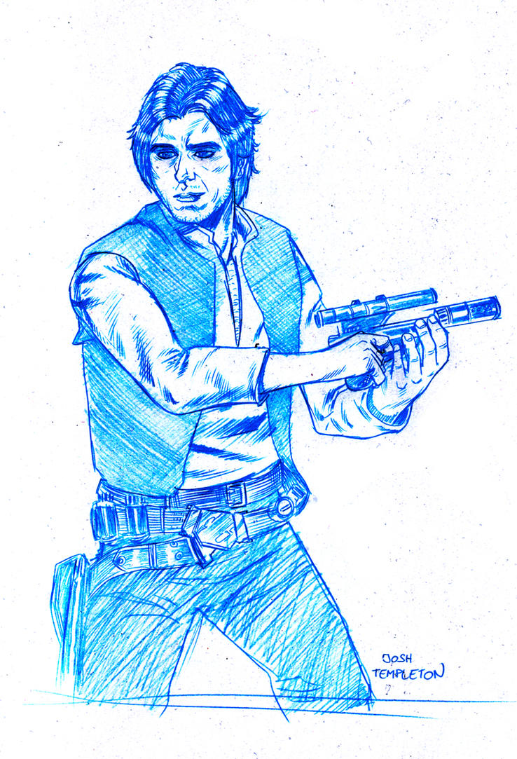 Star War's Han solo... by JoshTempleton