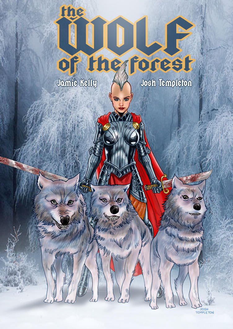 The Wolf of the forest by JoshTempleton