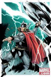 Thor cover colors by JoshTempleton