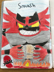 Incineroar smash  by emmanuelj15
