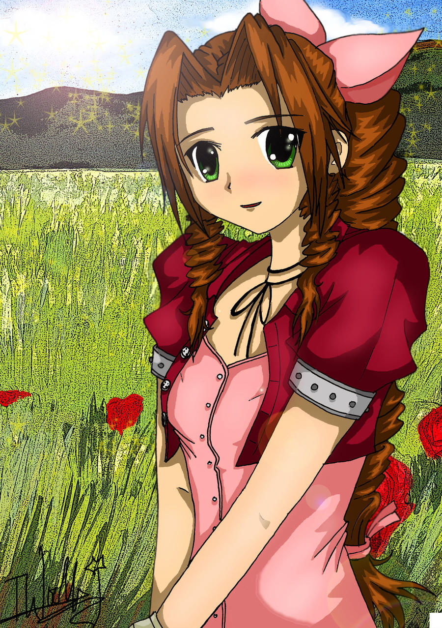 Aerith- Don't Worry x by izzycool91