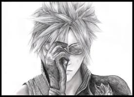 Final Fantasy: Cloud by Nicola-Alexander