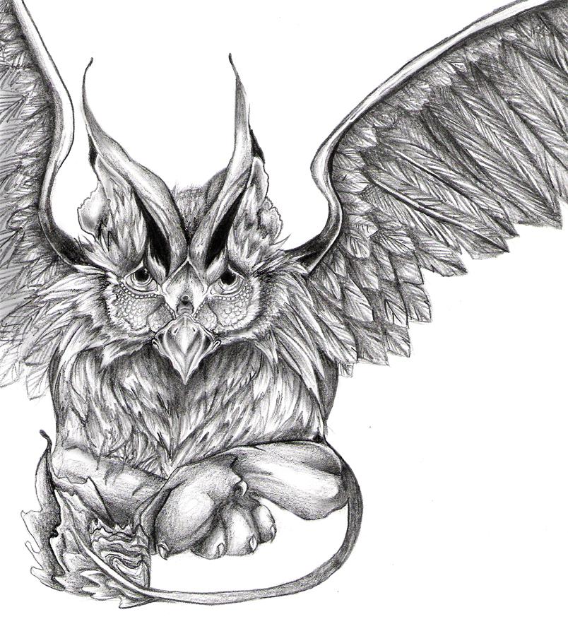 griffin sketch by Nicola-Alexander on DeviantArt