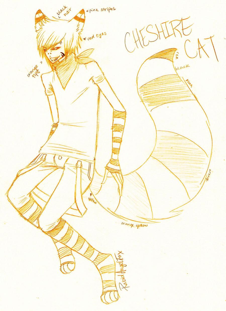 Cheshire Cat Tail Diy